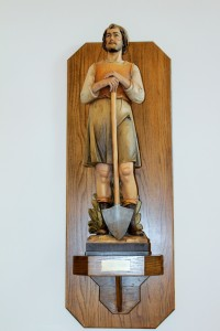 St. Isidore statue